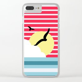 The early bird catches the worm. Clear iPhone Case