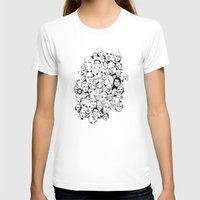 faces T-shirts featuring Faces by Allison Kiloh