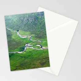 Highland Mountain Rivers Stationery Cards