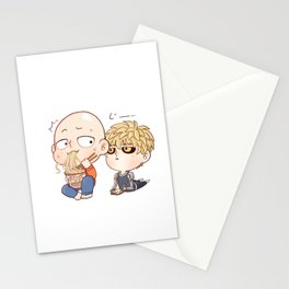 Fanboy Genos daily activity  Stationery Cards