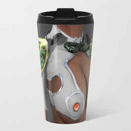Sci-fi, Cosplay girl with large natural breasts and small waist Travel Mug