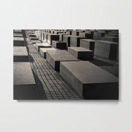Denkmal für Ermordeten Juden Europas Metal Print
