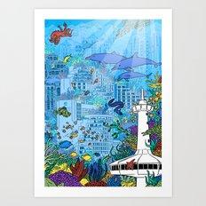 Eilat #1 Art Print