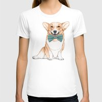corgi T-shirts featuring Corgi Dog by Barruf