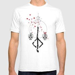 Bloodborne hunter rune T-shirt