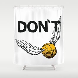 Don't Snitch Shower Curtain
