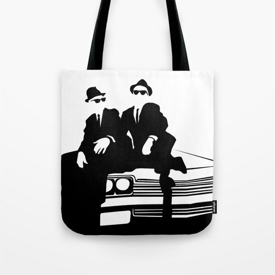 Blues Brothers Tote Bag