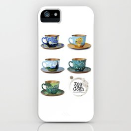 TeaVanGogh - Collection iPhone Case