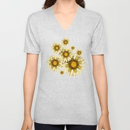 """Victorian Garden Spring Flowers"" Unisex V-Neck"