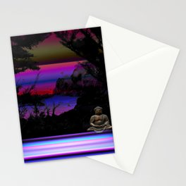 Solitude by Kenny Rego Stationery Cards