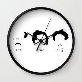 Quantum Physicists Wall Clock
