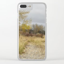 A Walk in Willow Flats - Grand Tetons Clear iPhone Case