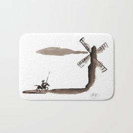 Don Quixote de la Mancha Bath Mat