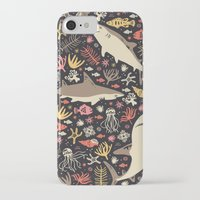 ocean iPhone & iPod Cases featuring Oceanica by Anna Deegan
