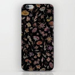 Botanical Study- Dark Colorway iPhone Skin