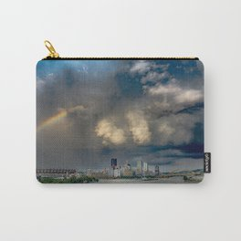 Rainbow Calm Before Pittsburgh Storm Carry-All Pouch