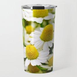 Chamomile flowers Travel Mug