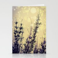 fireflies Stationery Cards featuring Fireflies by Kanelov