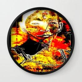Fire Candy 01 Wall Clock