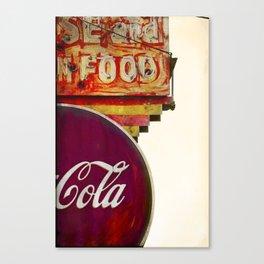 cOLD COKE Canvas Print