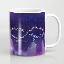 we were infinite (complete) Coffee Mug