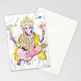 The Elephant God Ganesh, Ganesha Stationery Cards