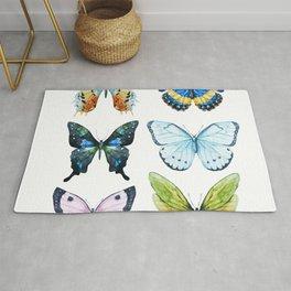 Butterflies 02 Rug