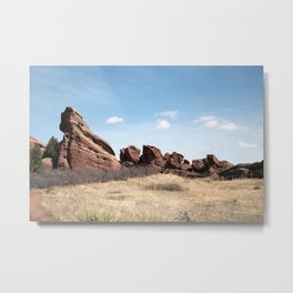 Colorado Red Rocks Metal Print