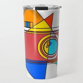 Retro Camera Travel Mug