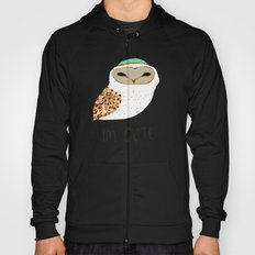 i'm cute owl illustration  Hoody