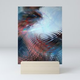 Abstract sky and water Mini Art Print
