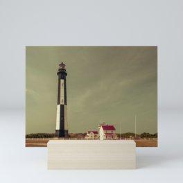 Cape Henry Light Mini Art Print