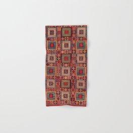 Azeri Zili Karabagh Azerbaijan South Caucasus Flatweave Print Hand & Bath Towel