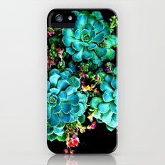 Beautiful Autumn plant green, blue Slim Case iPhone (5, 5s)