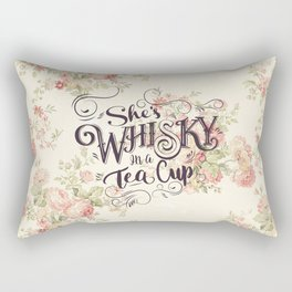 She's Whiskey in a Teacup Rectangular Pillow