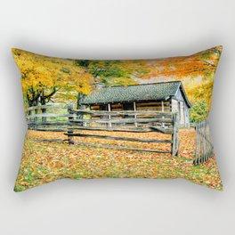 Cabin in the Woods Rectangular Pillow