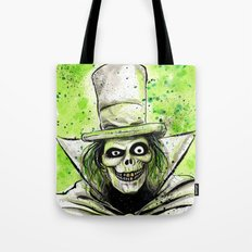 Hat Box Ghost Tote Bag