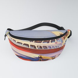 oude Poissons Volants Fanny Pack