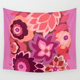 CAMBRIA, ART DECO FLORALS: LIPSTICK Wall Tapestry
