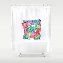 Beautiful F Word Shower Curtain