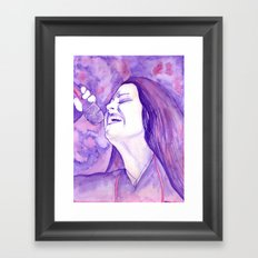 I know you feel this Framed Art Print