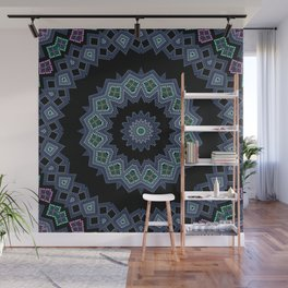 Embroidered beads pattern 2 Wall Mural