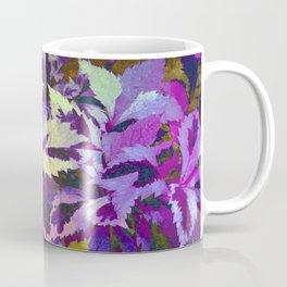 More Lovely Leaves, Purple Shades Coffee Mug