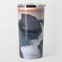 Shark Fin Cove - Davenport, CA Travel Mug