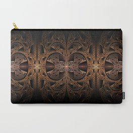Steampunk Engine Abstract Fractal Art Carry-All Pouch