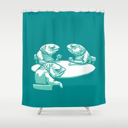 Drink like a Fish Shower Curtain