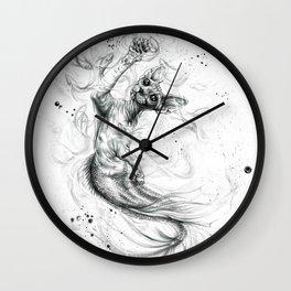 Purrmaid Wall Clock