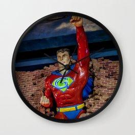 G Man Wall Clock