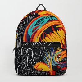 Always be proud of you street art graffiti Backpack