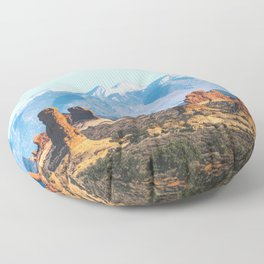 Landforms Floor Pillow